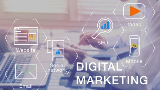 components of doigital marketing